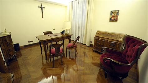 pope francis bedroom pope francis chooses to live in a two bedroom apartment instead of palace herald sun