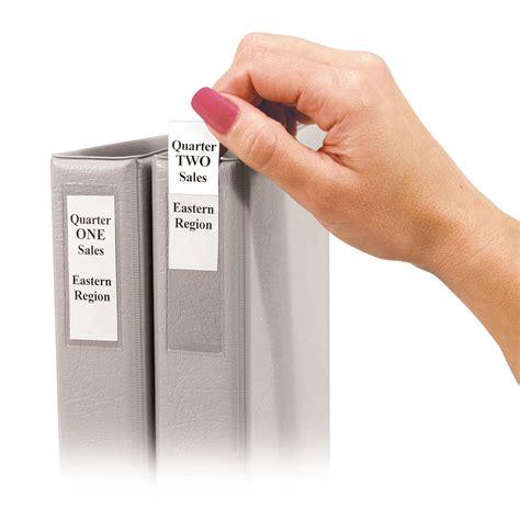 ring binder label template c line self adhesive binder label holders for
