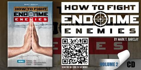 End Time Volume 1 how to fight end time enemies cd vol 2 barclay