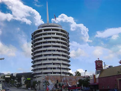 Building Records Capitol Records Building 002 Free Desktop Wallpapers For Widescreen Hd And Mobile