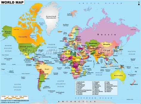 world map with country name canada world map displaying various islands oceans continents