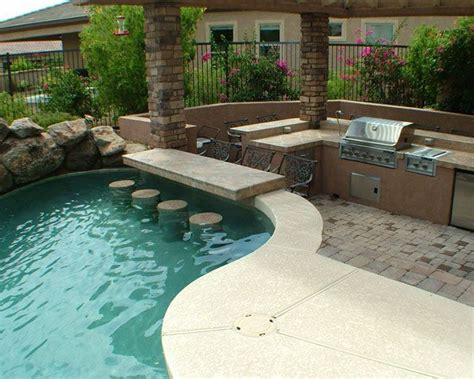 51 Best Images About Pool Bar Ideas On Pinterest Swim Backyard Pool Bar