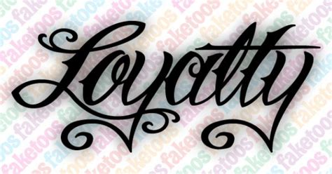 tattoo font prices loyalty word tattoo script loyalty price 0 65 the image