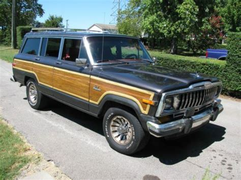 1986 Jeep Grand Find Used 1986 Jeep Grand Wagoneer Base Sport Utility 4