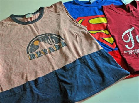 Upcycle Clothing - 10 ingenious ways to recycle an old t shirt ecouterre