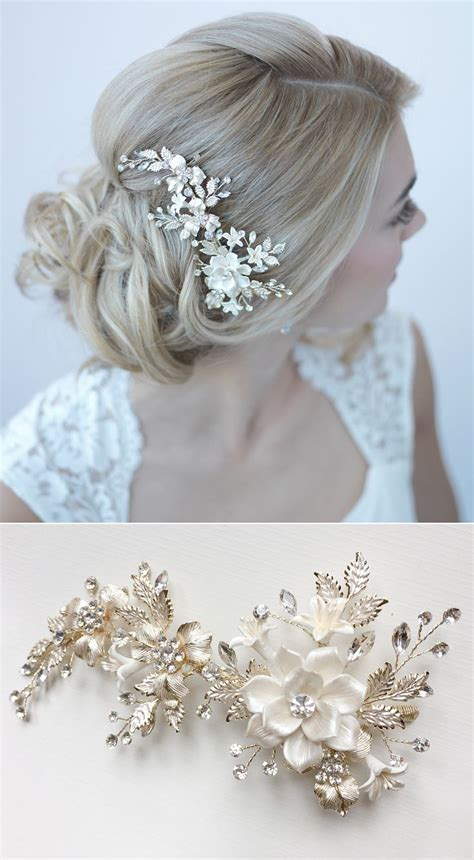 Best 25  Wedding hair combs ideas on Pinterest