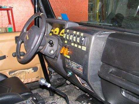 jeep tj custom dash jeep wrangler tj dash
