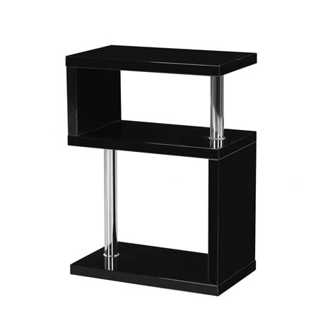 High Gloss Side Table Mfs Furniture Miami Black High Gloss Side Table Mfs Furniture From Emporium Home Interiors Uk