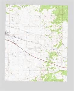 seligman arizona map seligman east az topographic map topoquest