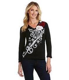 Berek Jeweled Christmas Tree Sweater Dillards » Ideas Home Design