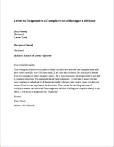 Sle Complaint Letter Against Colleague Misbehaviour A Sle Complaint Letter To My About Co Workers
