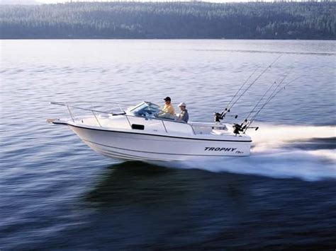 entry level saltwater fishing boats trophy 20 walkaround boats for sale