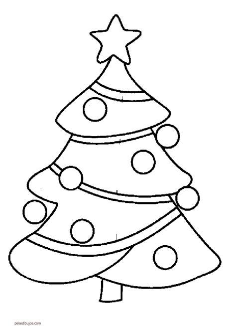 imagenes para pintar navidad para niños dibujos de abetos de navidad para colorear
