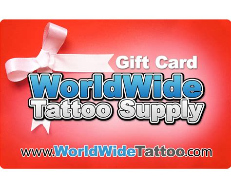 worldwide tattoo supply gift card gift cards gift cards warmer worldwide