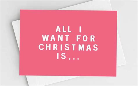All I Want For It by All I Want For An E Commerce Marketing Carol