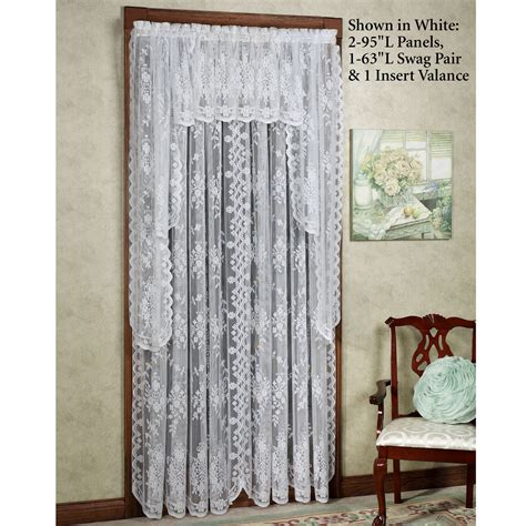 lace curtains irish lace curtain panels by the yard lace curtains macrame