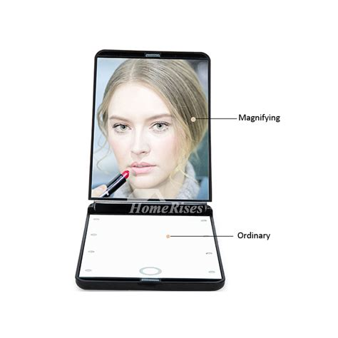portable mirror with lights portable small makeup mirror with lights led magnifying