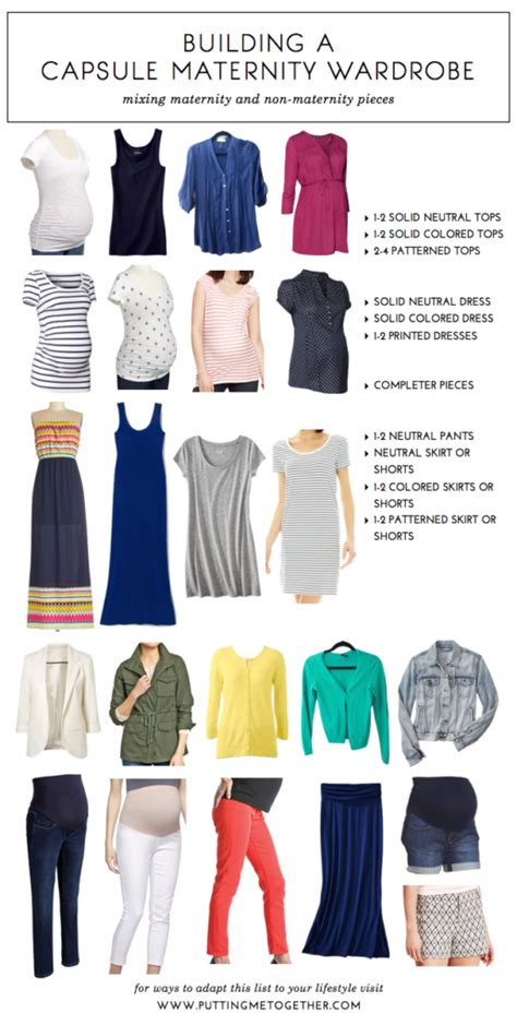 Maternity Capsule Wardrobe by How To Build A Capsule Maternity Wardrobe Putting Me