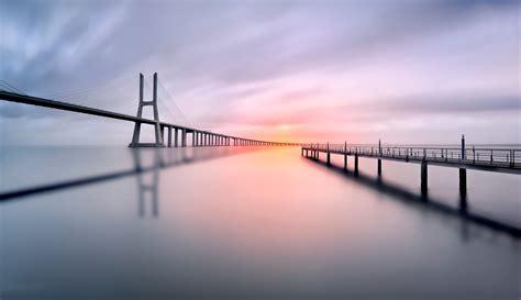 generale di vasco general 2048x1181 bridges water landscapes piers shadows
