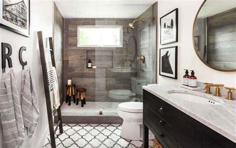 gorgeous farmhouse style bathrooms   love