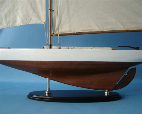 contender boats wood buy wooden america s cup contender model sailboat