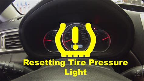 how to reset tire pressure light resetting low tire pressure light doovi