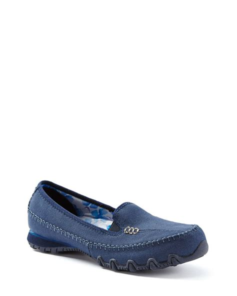 skechers wide width relaxed fit slip on shoes