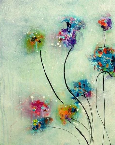 photos flower paintings acrylic for beginners drawings gallery