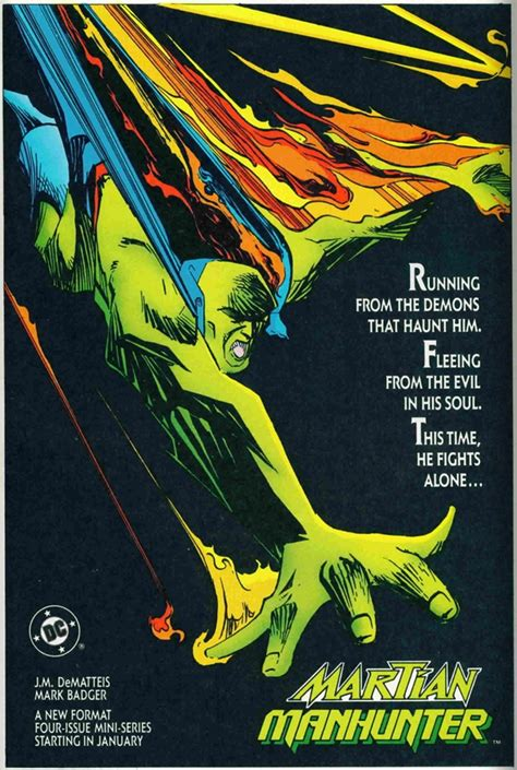 dc in the 80s brief review of the 1988 martian manhunter