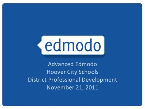edmodo not loading advanced edmodo