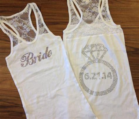 25  best ideas about Bride tank tops on Pinterest