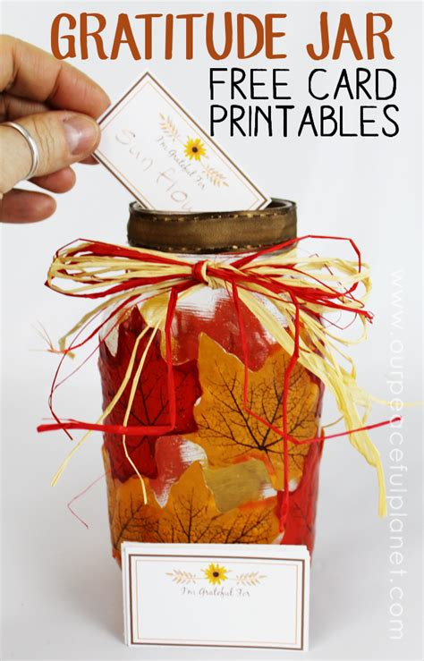 printable quotes for jars gratitude jar activity table decor 183 free printable