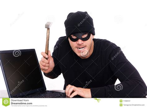 free selfportrait stock photo freeimages robber royalty free stock photography image 17098197