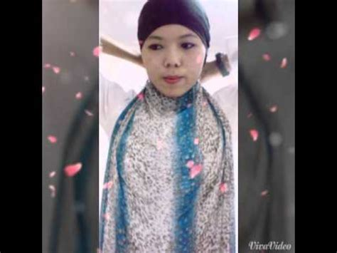 hijab tutorial simple look tanpa jarum dan peniti tutorial hijab simple tanpa peniti jarum pentul youtube