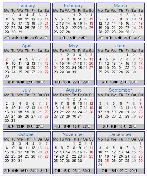 Moon Calendar 2018 Moon Calendar 2018 Moon Schedule Calendar 2018