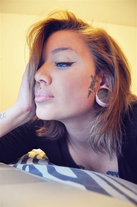 sideburn tattoos the medusa 31 edgy exles of piercings