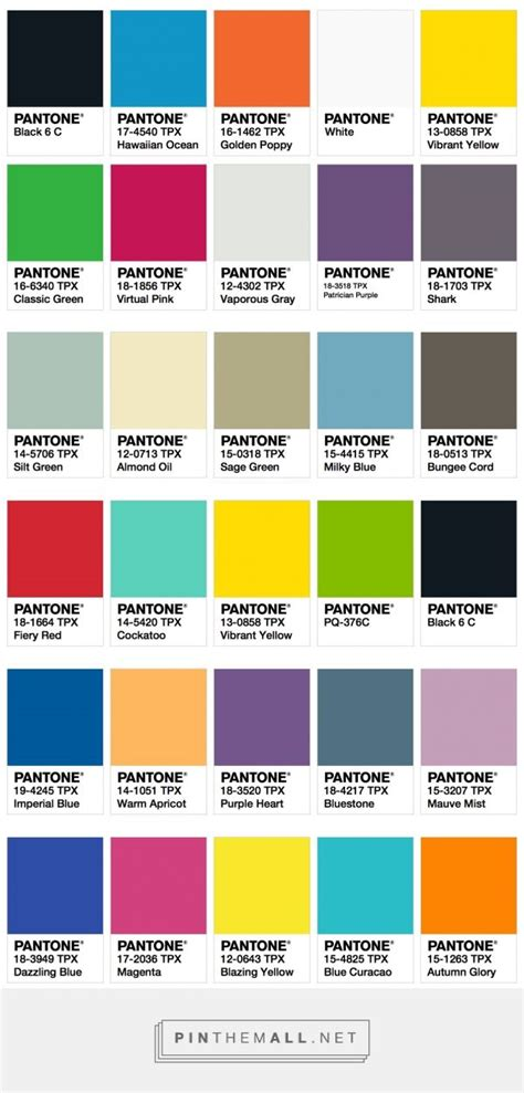 fall 2017 pantone colors ispo color palette fall winter 2017 2018 fashion