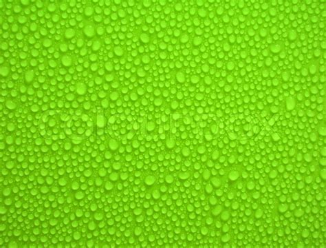 green pattern website water drops on green background and texture stock photo