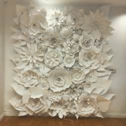 Home Decor Elegant Home 3d paper flower wonder wall collection and sculptures