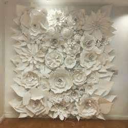 Wall Murals Wallpaper Uk 3d paper flower wonder wall collection and sculptures