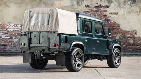 kahn land rover defender double cab kahn reveals land rover defender 110 double cab pick up cwt