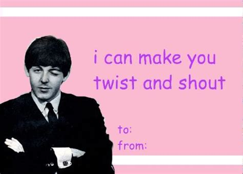 the beatles valentines 1423 best paul george ringo well mostly paul