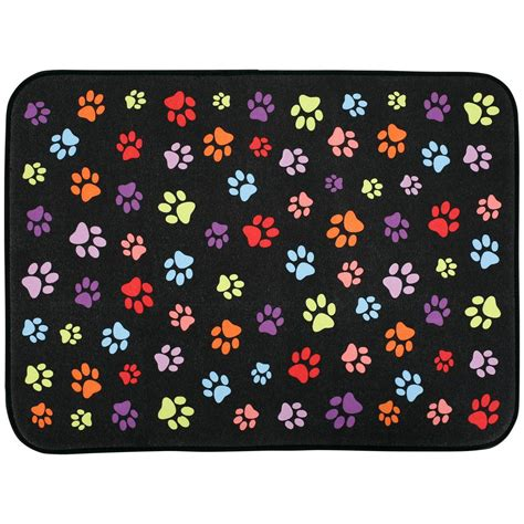 paws galore microfiber dish drying mat the animal rescue