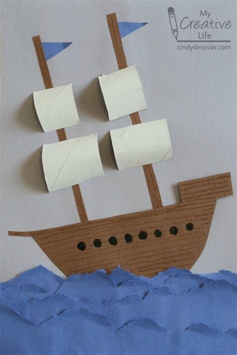 Craft In Paper - derosier my creative explorer ship craft