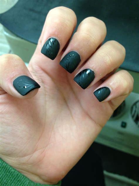 matte black nail designs matte black nail design makeup hair nails