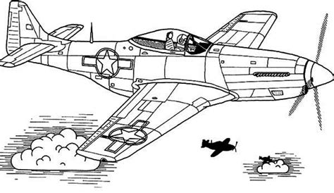 P 51 Mustang Coloring Pages by Free P51 Mustang Coloring Pages