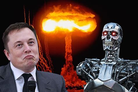elon musk robot elon musk says humanity needs to act now to stop