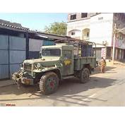 Nissan 1 Ton Indian Army 4