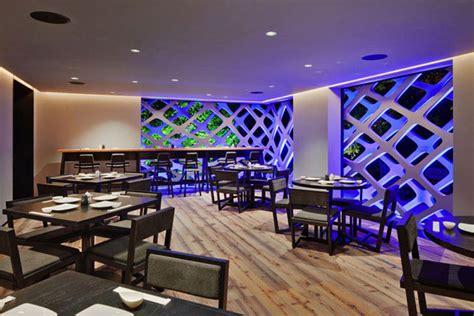 contemporary japanese restaurant interior interiorzine