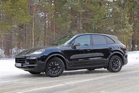 Porsche Cayenne News by 2018 Porsche Cayenne Spied With Mild Camo Expect To See